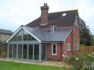Jonathan W Burton brick and glass extension