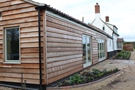 Jonathan W Burton timber clad extension